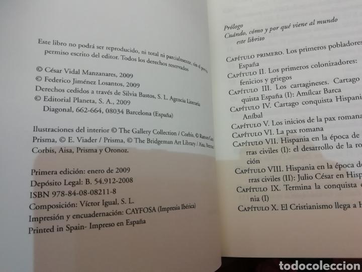 Libros de segunda mano: Libro Historia de España - Foto 2 - 219305651