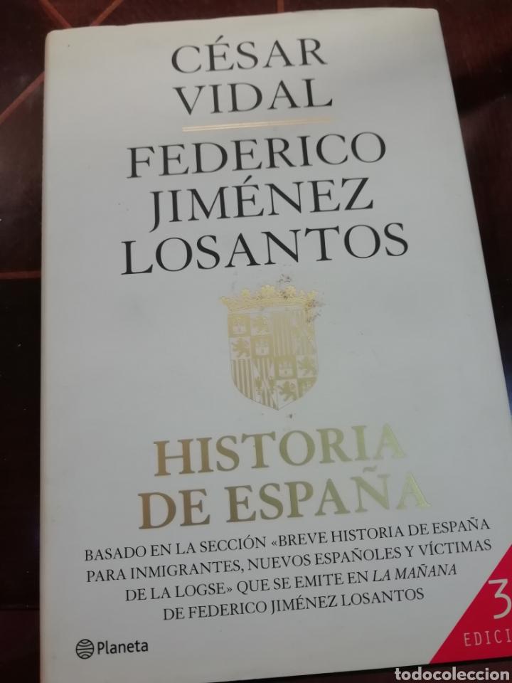 LIBRO HISTORIA DE ESPAÑA (Libros de Segunda Mano - Historia Antigua)