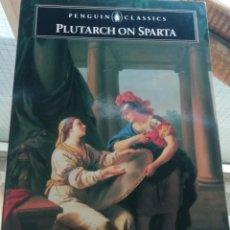 Libros de segunda mano: PLUTARCH ON SPARTA EN INGLÉS. Lote 219342465