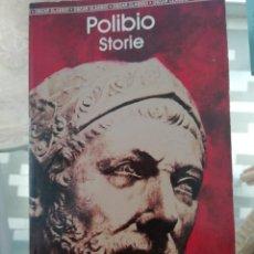 Libros de segunda mano: POLIBIOO STORIE EN ITALIANO. Lote 219343270