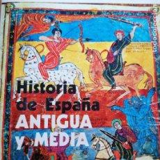 Libros de segunda mano: HISTORIA DE ESPAÑA ANTIGUA Y MEDIA. LUIS SUÁREZ FERNÁNDEZ. ED. RIALP, S.A. 2 TOMOS 1976. Lote 219354223