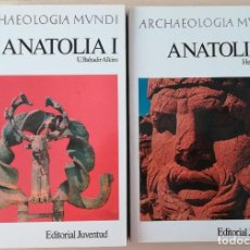 Libros de segunda mano: ANATOLIA TOMO I Y II - ARCHAEOLOGIA MUNDI. Lote 219614243