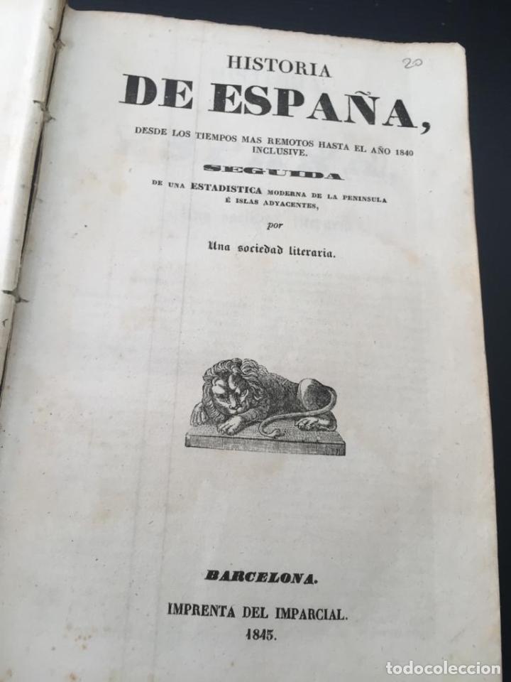 Libros de segunda mano: PANORAMA UNIVERSAL - HISTORIA Y DESCRIPCION DE TODOS LOS PUEBLOS DE ESPAÑA - Foto 4 - 220477970