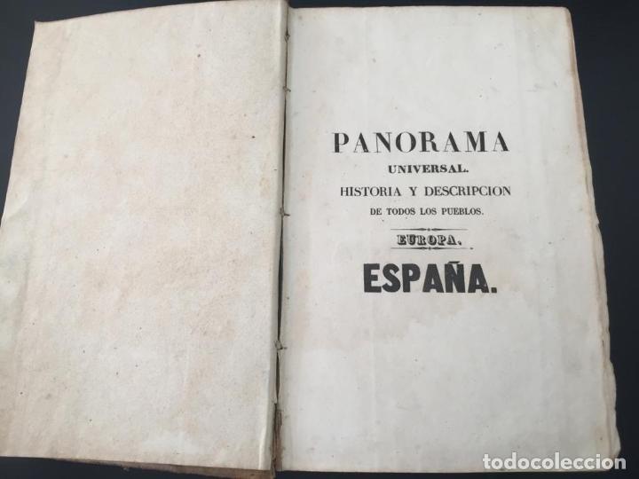 Libros de segunda mano: PANORAMA UNIVERSAL - HISTORIA Y DESCRIPCION DE TODOS LOS PUEBLOS DE ESPAÑA - Foto 3 - 220477970