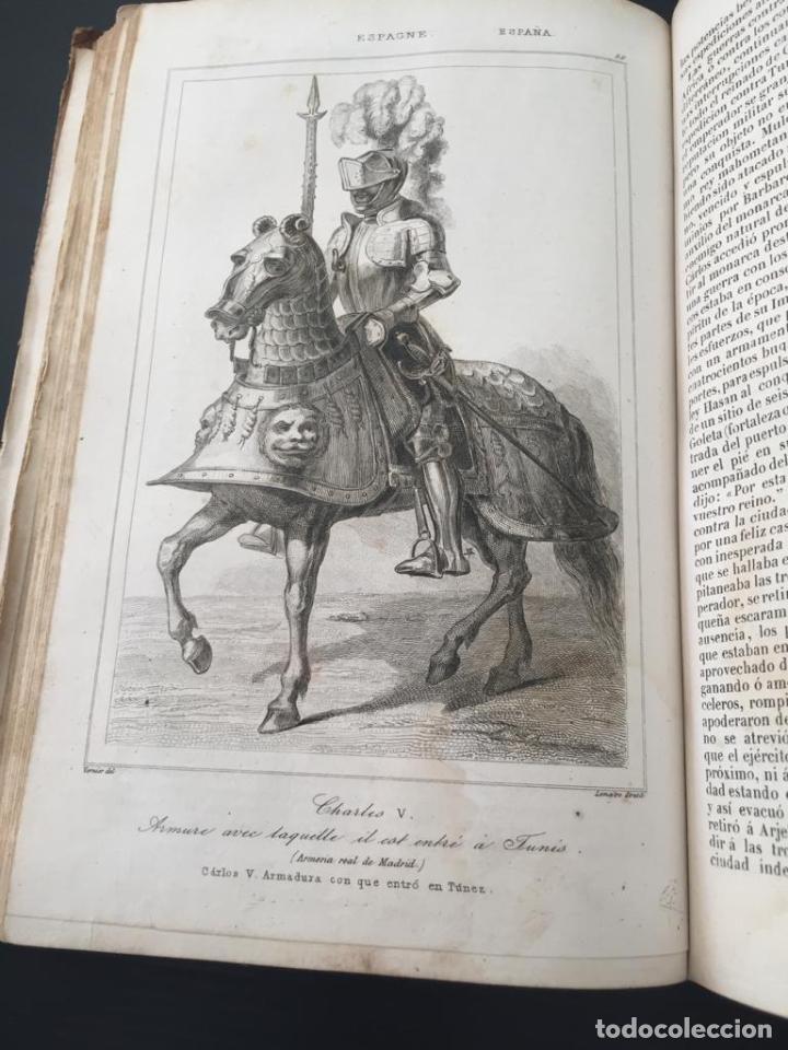 Libros de segunda mano: PANORAMA UNIVERSAL - HISTORIA Y DESCRIPCION DE TODOS LOS PUEBLOS DE ESPAÑA - Foto 8 - 220477970