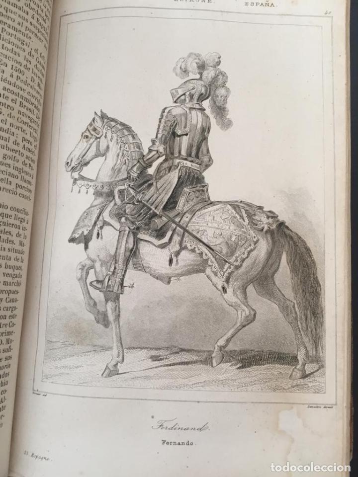 Libros de segunda mano: PANORAMA UNIVERSAL - HISTORIA Y DESCRIPCION DE TODOS LOS PUEBLOS DE ESPAÑA - Foto 9 - 220477970