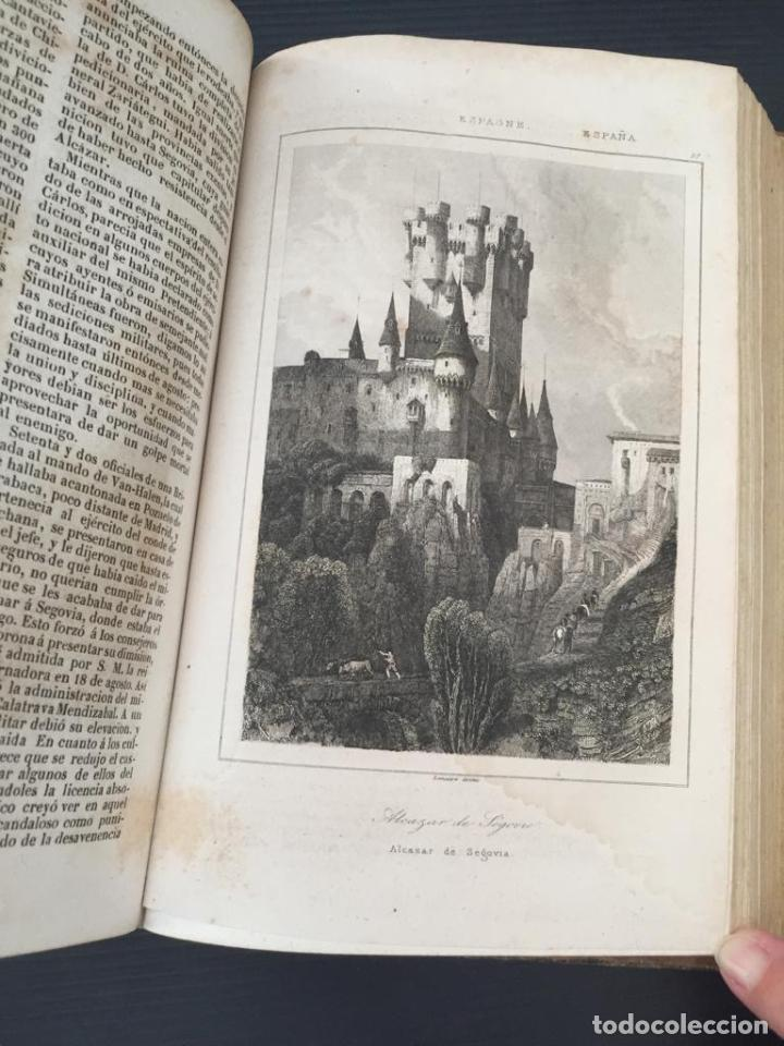 Libros de segunda mano: PANORAMA UNIVERSAL - HISTORIA Y DESCRIPCION DE TODOS LOS PUEBLOS DE ESPAÑA - Foto 10 - 220477970