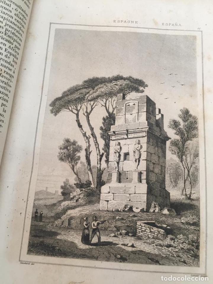 Libros de segunda mano: PANORAMA UNIVERSAL - HISTORIA Y DESCRIPCION DE TODOS LOS PUEBLOS DE ESPAÑA - Foto 12 - 220477970