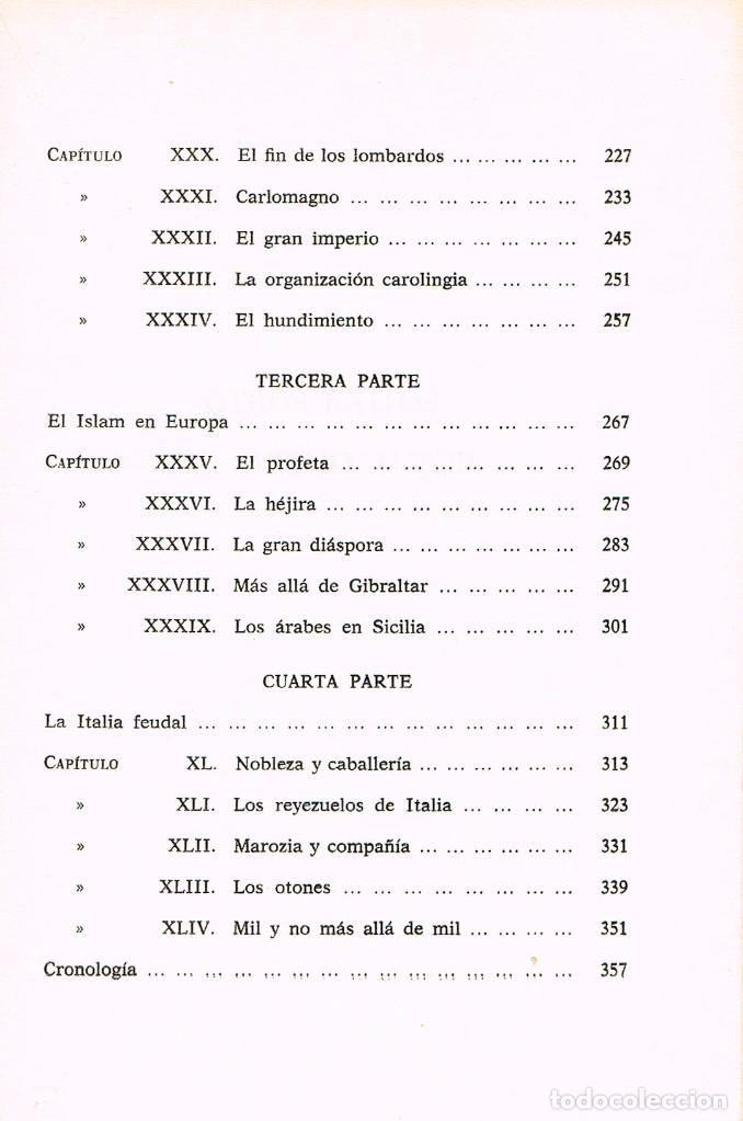 Libros de segunda mano: Indro Montanelli, Hisoria de la Edad Media, Ver indice - Foto 4 - 220511072