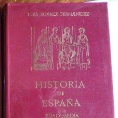 Libros de segunda mano: HISTORIA DE ESPAÑA. EDAD MEDIA. LUIS SUÁREZ FERNÁNDEZ. 1970. EDITORIAL GREDOS.. Lote 220666961