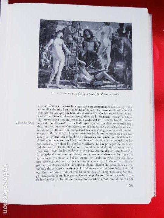 Libros de segunda mano: LIBRO-MITOLOGÍA CLÁSICA ILUSTRADA-SEEMANN-VERGARA EDITORIAL-1960- - Foto 10 - 222179677