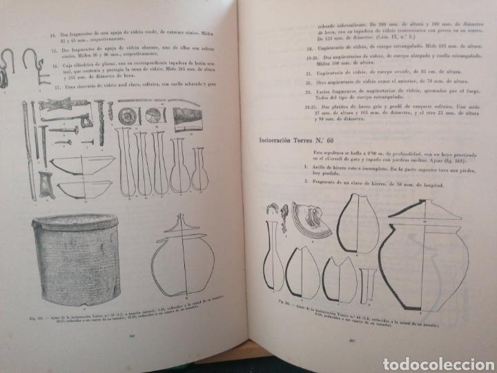 Libros de segunda mano: Las necrópolis de Ampurias.Vol.II.Martín Almagro. Dip. de Barcelona. Barcelona, 1955. Ded. Autógrafa - Foto 4 - 222347487
