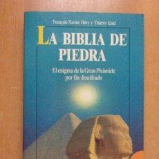 Libros de segunda mano: LA BIBLIA DE PIEDRA / FRANÇOIS-XAVIER HÉRY Y THIERRY ENEL / 1991. ROBIN BOOK. Lote 222653883