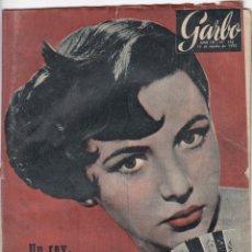 Libros de segunda mano: REVISTA GARBO AÑO 1955 -Nº 126 CHIPRE NO QUIERE SER INGLES. Lote 222854966
