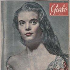 Libros de segunda mano: REVISTA GARBO AÑO 1955 -Nº 128 PAZ PARA LOS ATOMOS / NADAR NO ES NEGOCIO. Lote 222855052