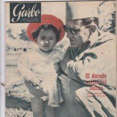 Libros de segunda mano: REVISTA GARBO AÑO 1955 -Nº 135 EL DORADO EXILIO DEL SUTAN. Lote 222855393