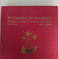 Libros de segunda mano: EL CAMINO DE SANTIAGO/LE CHEMIN DE SAINT-JACQUES BASILIO LOSADA Y MANUEL G.VICENTE. Lote 223371335