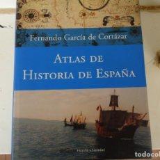 Libros de segunda mano: ATLAS DE HISTORIA DE ESPAÑA. Lote 223547822