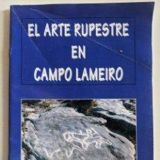 Libros de segunda mano: 1993 EL ARTE RUPESTRE EN CAMPO LAMEIRO - DE LA PEÑA SANTOS - COSTAS GOBERNA - REY GARCIA. Lote 223939831