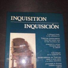 Libros de segunda mano: INQUISICIÓN. INSTRUMENTOS DE TORTURA , BILINGÜE INGLÉS - ESPAÑOL. Lote 224390253