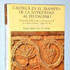 Libros de segunda mano: CASTILLA EN EL TRÁNSITO DE LA ANTIGÜEDAD AL FEUDALISMO. Lote 224741792