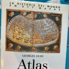 Libros de segunda mano: ATLAS HISTORICO MUNCIAL. Lote 224836793