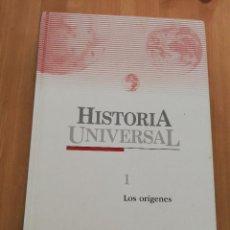 Libros de segunda mano: HISTORIA UNIVERSAL TOMO 1. LOS ORÍGENES (SALVAT / EL PAIS). Lote 226275703