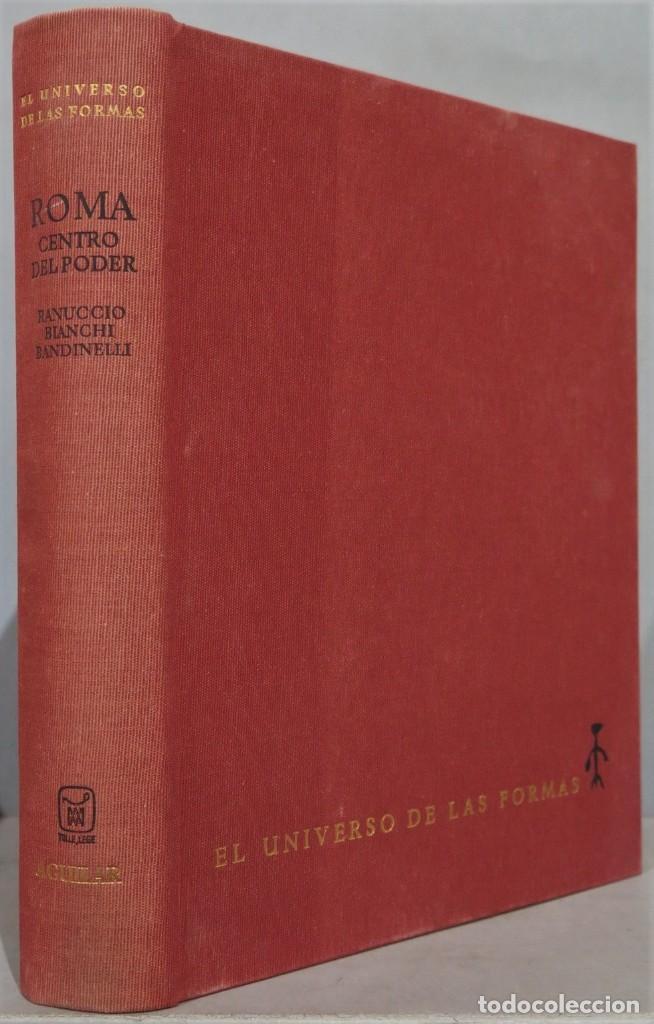 1969.- ROMA CENTRO DE PODER. UNIVERSO DE LAS FORMAS. AGUILAR (Libros de Segunda Mano - Historia Antigua)