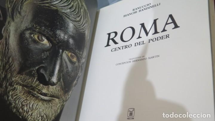 Libros de segunda mano: 1969.- ROMA CENTRO DE PODER. UNIVERSO DE LAS FORMAS. AGUILAR - Foto 2 - 227089355