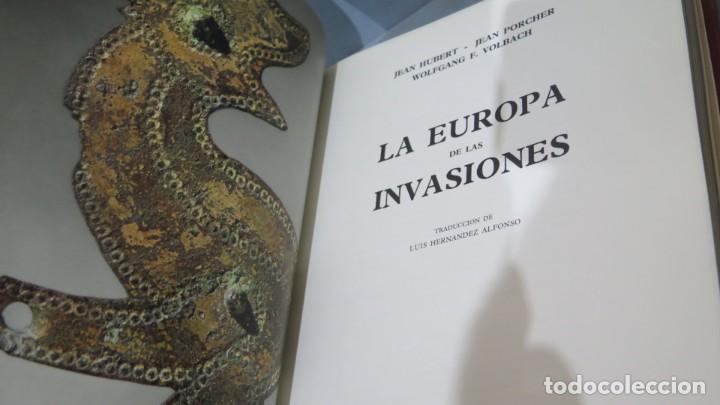 Libros de segunda mano: 1968.- LA EUROPA DE LAS INVASIONES. EL UNIVERSO DE LAS FORMAS - Foto 2 - 227089450