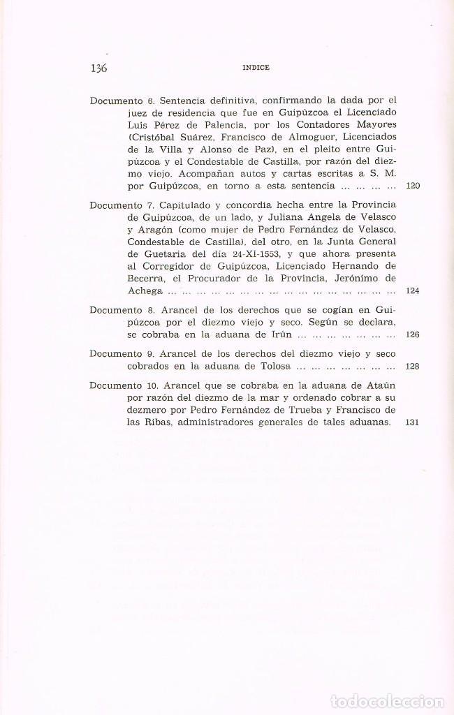 Libros de segunda mano: El Diezmo de Castilla siglos XIII a XV (Diez de Salazar), reencuadernado con lomo piel, ver indices - Foto 3 - 227205715