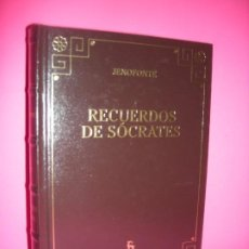 Libros de segunda mano: RECUERDOS DE SOCRATES - JENOFONTE - EDITORIAL GREDOS 2006. Lote 228549125