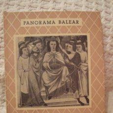 Libros de segunda mano: EL CODICE DE PRIVILEGIOS DE MALLORCA - JUAN PONS Y MARQUES - PANORAMA BALEAR Nª12 - MUY BUEN ESTADO. Lote 228569930