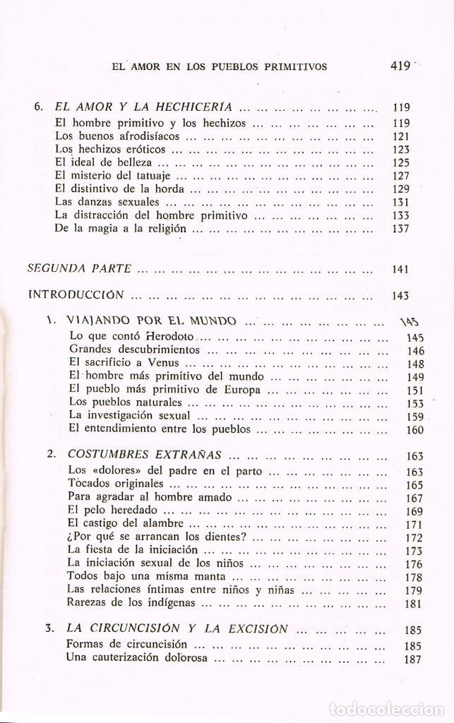 Libros de segunda mano: El amor en los pueblos primitivos (José Repolles Aguilar) - Foto 4 - 229197340