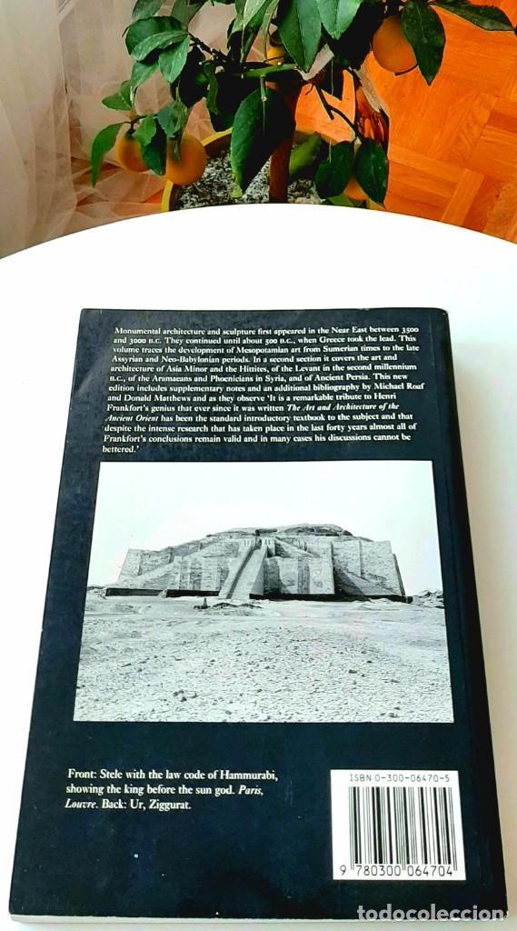 """Libros de segunda mano: Arte en """"Mesopotamia"""". Frankfort 1996. Collon 1995. Feldman-Brown 2014. Bahrani & Herrmann 2017. - Foto 3 - 229610765"""