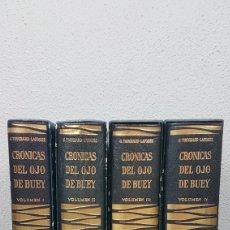 Libros de segunda mano: 4 TOMOS / VOLUMEN CRONICA DEL OJO DE BUEY DE LAS CAMARILLAS DE LA CORTE Y DE LOS SALONES DE PARIS.. Lote 229757585