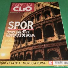 Libros de segunda mano: ESPECIAL CLIO Nº 15 - SPQR OCHO SIGLOS DE HISTORIAS DE ROMA. Lote 230557355