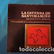 Libros de segunda mano: LA CAVERNA DE SANTIMAMIÑE DE JUAN MARIA APELLANIZ. Lote 231660200