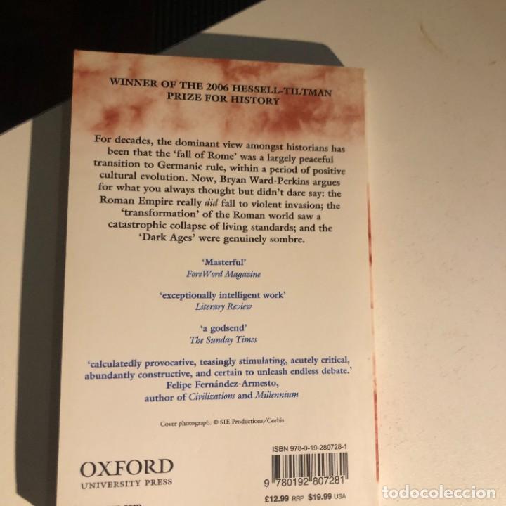 Libros de segunda mano: The Fall of Rome: And the End of Civilization de Bryan Ward-Perkins - Foto 2 - 232552570
