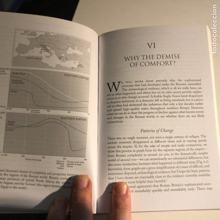 Libros de segunda mano: The Fall of Rome: And the End of Civilization de Bryan Ward-Perkins - Foto 4 - 232552570