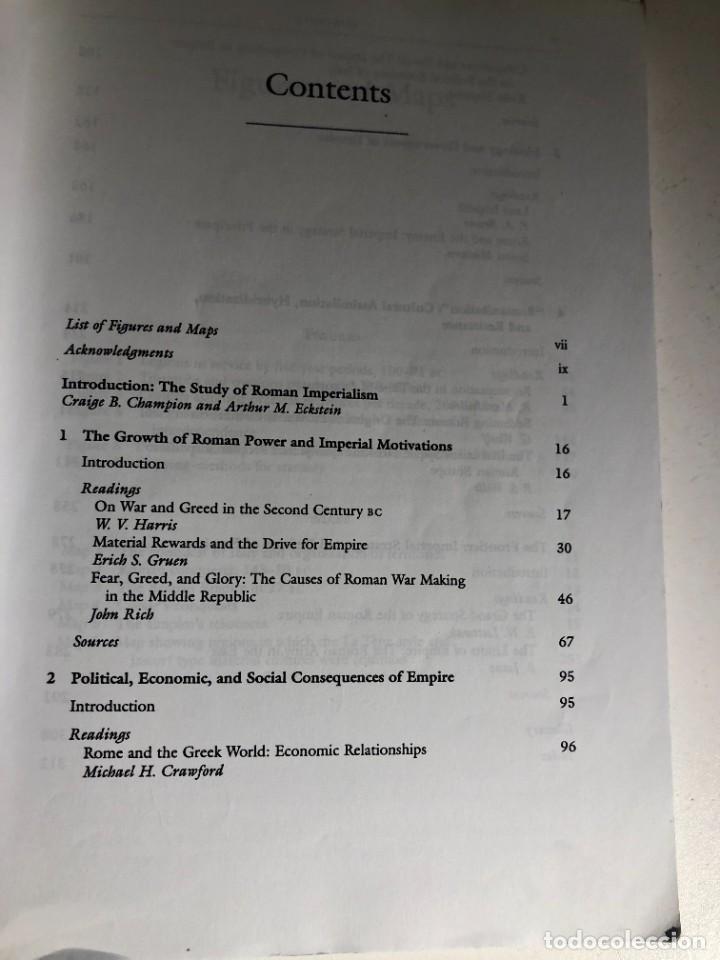 Libros de segunda mano: Roman Imperialism: Readings and Sources editado por Craig Champion - Foto 2 - 232553292