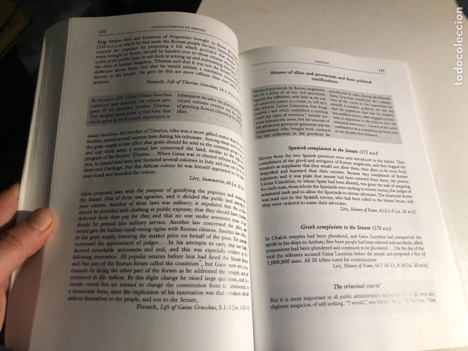 Libros de segunda mano: Roman Imperialism: Readings and Sources editado por Craig Champion - Foto 4 - 232553292