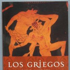 Libros de segunda mano: LOS GRIEGOS. CULTURA Y MITOLOGÍA. DAVID BELLINGHAM. Lote 234563390