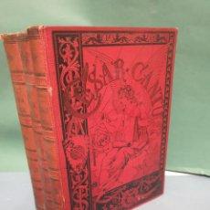 Libros de segunda mano: HISTORIA UNIVERSAL CÉSAR CANTÚ TOMOS 9 AL 11 BARCELONA J. ROMÁ, EDITOR, BRUCH, 89 Y 91. Lote 234639940