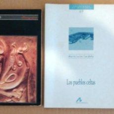Libros de segunda mano: LOS CELTAS TERESA DE LA VEGA - LOS PUEBLOS CELTAS Mª LUISA CERDEÑO - LOS CELTAS VENCESLAS KRUTA. Lote 235079210