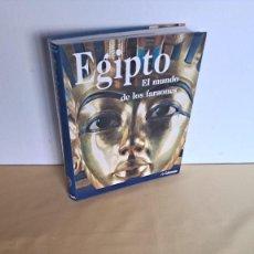 Libros de segunda mano: REGINE SCHULZ Y MATTHIAS SEIDEL - EGIPTO, EL MUNDO DE LOS FARAONES - TANDEM 2007. Lote 235127795