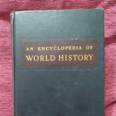 Libros de segunda mano: 1948. AN ENCICLOPEDY OF WORLD HISTORY. WILLIAM LANGER.. Lote 235798280