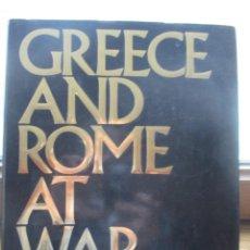 Libros de segunda mano: GREECE AND ROME AT WAR DE PETER CONNOLLY. Lote 236154490