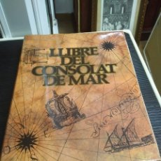 Livros em segunda mão: LLIBRE DEL CONSOLAT DEL MAR. VICENT GARCÍA EDITORES, 1979. Lote 236205215