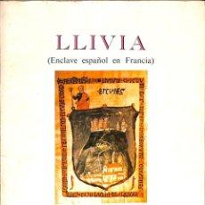 Libros de segunda mano: LLIVIA. Lote 236550770